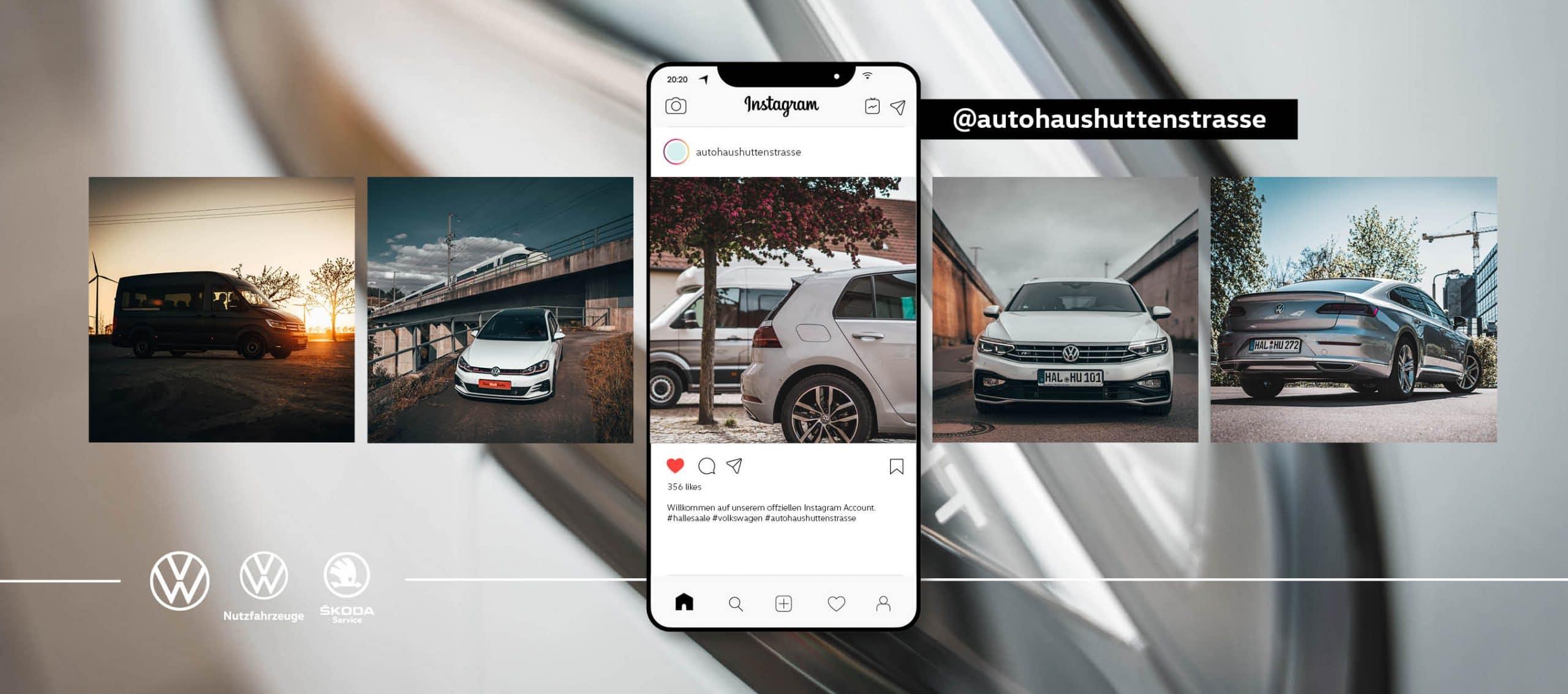 VW Instagram Huttenstraße