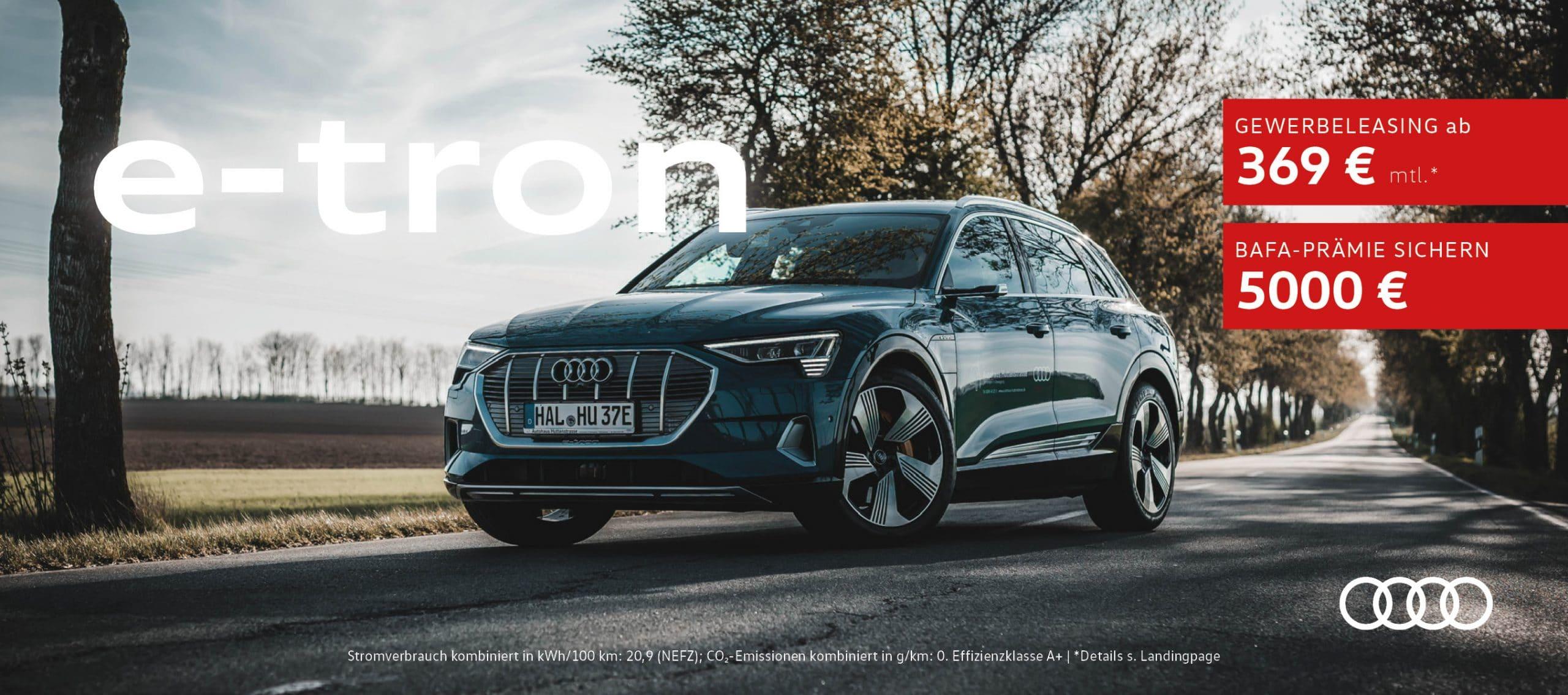 Audi eTron Sonderangebote